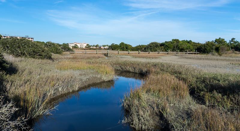 Salt Water Marsh @ Burkes Beach - Hilton Head Island, SC