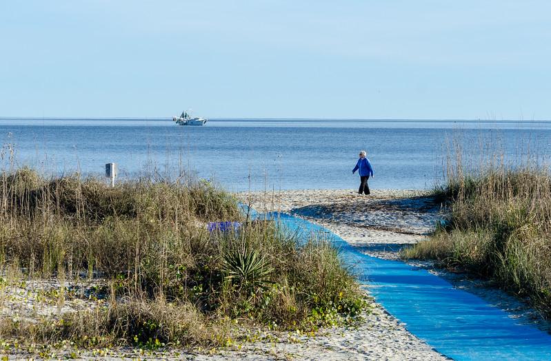 Beach Walker @ Folly Field Beach - Hilton Head Island, SC