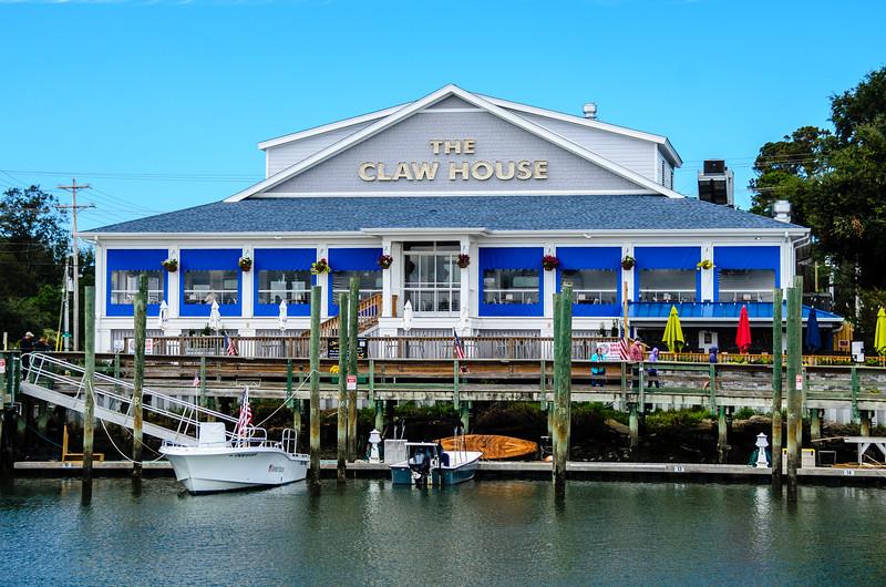 Claw House Restaurant - Murrells Inlet, SC
