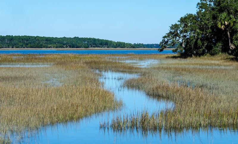 Mackay Creek III @ Pinckney Island NWR - Beaufort County, SC