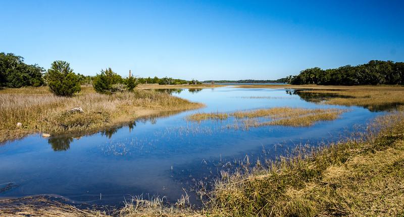 Ibis Pond @ Pinckney Island NWR - Beaufort County, SC