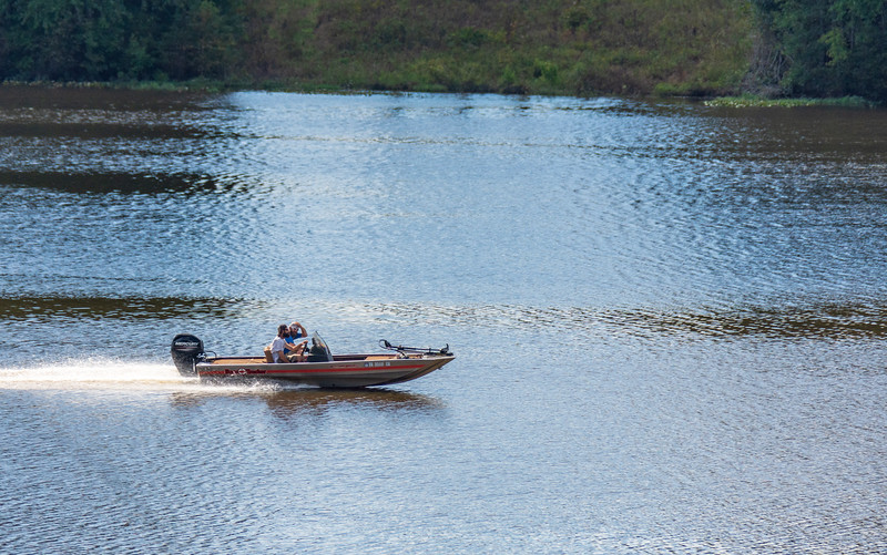 Speedboat on Lake Chesdin @ Albright Scout Reservation - Chesterfield County, VA