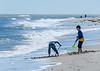 Digging for Treasure @ Assateague Island National Seashore - Assateague Island, VA