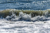 Wave crashing on Assateague Island beach