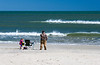 Beach Fishing on Assateague Island National Seashore - Assateague Island, VA