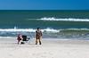 Beach Fishing on Assateague Island National Seashore - Assateague Island, VA