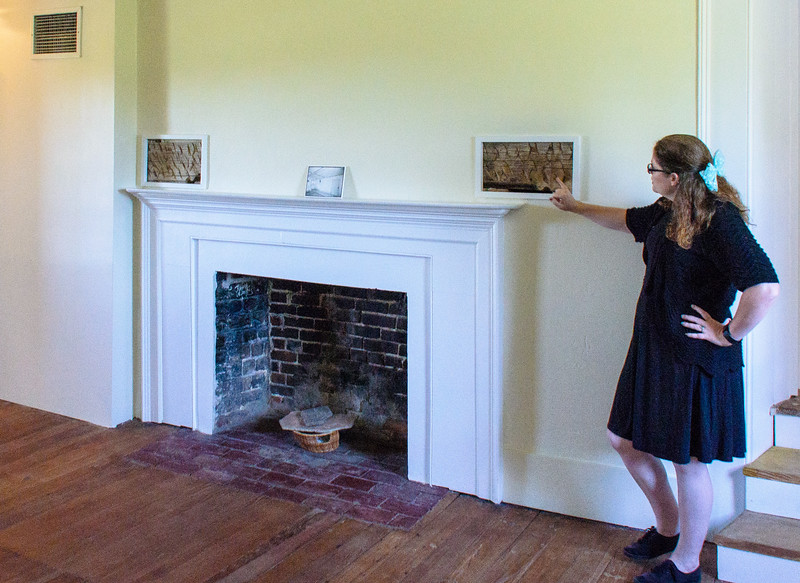 Historic Interpreter in the Over the Hall Room @ Bacon's Castle - Surry, VA
