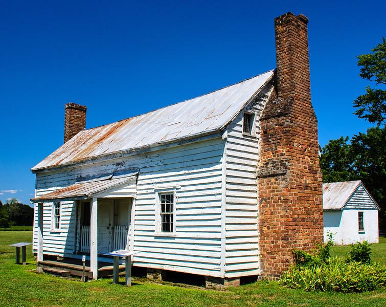 Slave & Tenant House c. 1829 @ Bacon's Castle - Surry, VA