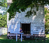 Smokehouse c 1820's @ Bacon's Castle - Surry, VA