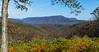 Devils Knob from The Slacks Overlook @ MP 19.9 on the Blue Ridge Parkway - Vesuvius, VA, USA