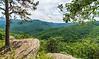 20-Minute Cliff Overlook @ MP 19 on the Blue Ridge Parkway - Montebello, VA