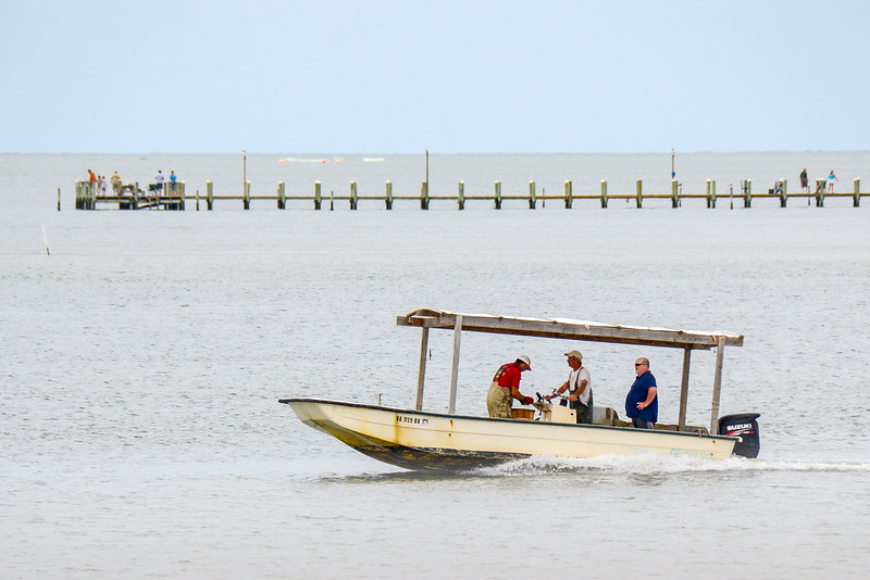 Fishermen Headed Out - Cape Charles, VA