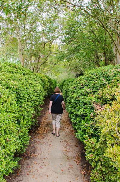 Where does this path go? @ Eyre Hall - Cheriton, VA