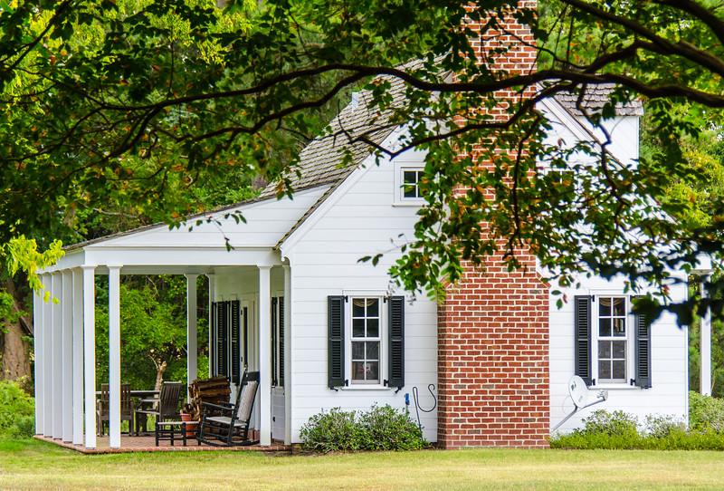 Cottage (side) @ Eyre Hall - Cheriton, VA
