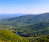Moorman's River Overlook and Charlottesville Reservoir - Crozet, VA - by Paul Diming