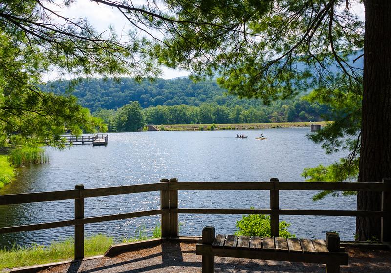 Douthat Lake Overlook @ Douthat State Park - Millboro, VA