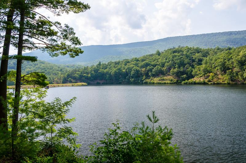 Douthat Lake @ Douthat State Park - Millboro, VA