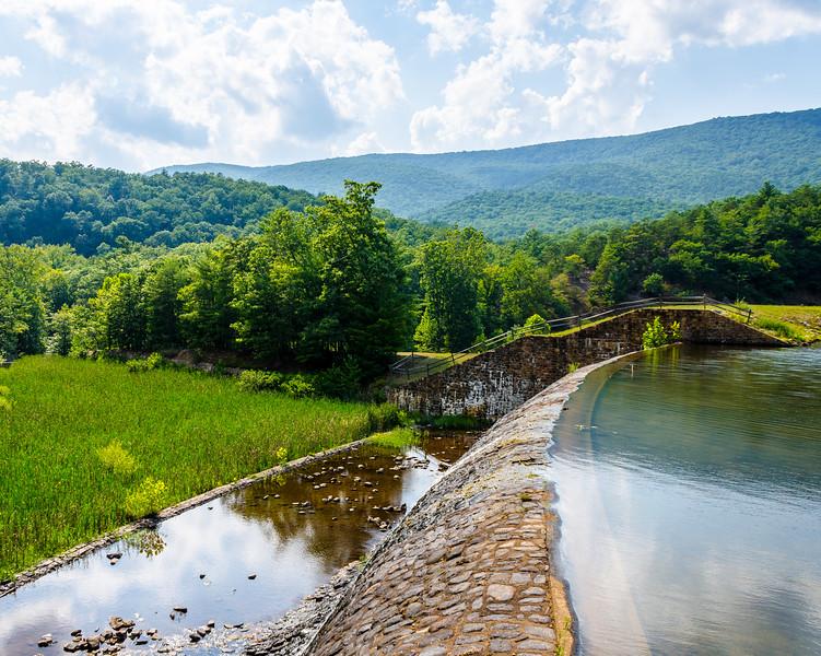 Douthat Dam @ Douthat State Park - Millboro, VA