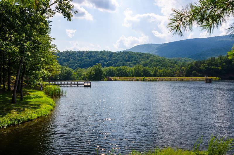 Douthat Lake II @ Douthat State Park - Millboro, VA