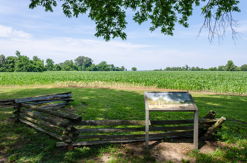 Henry Brooks Farm Site c 1651 @ George Washington Birthplace National Monument - Westmoreland County, VA