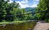 Footbridge Over the Maury River in Goshen Pass - Goshen, VA