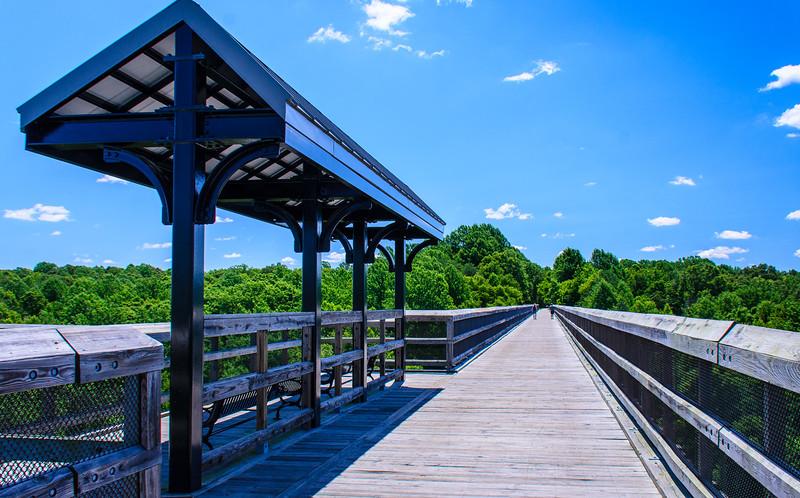 Covered Overlook @ High Bridge Trail State Park - Rice, VA