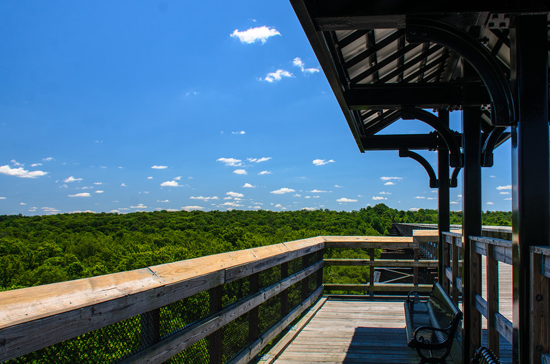 Covered Overlook 2 @ High Bridge Trail State Park - Rice, VA