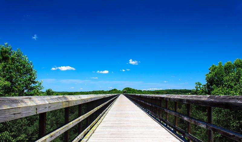 High Bridge Looking South @ High Bridge Trail State Park - Rice, VA