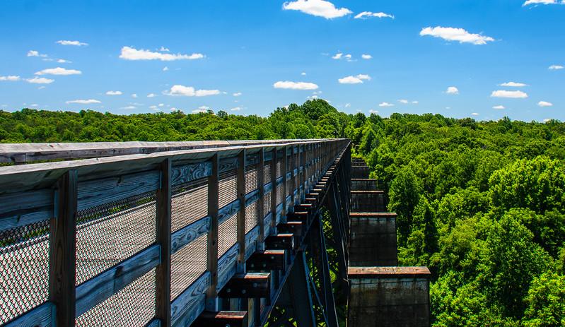 Original Brick Piers @ High Bridge Trail State Park - Rice, VA