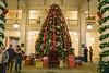 Great Hall Christmas Tree @ The Homestead - Hot Springs, VA, USA