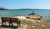 Lakeside Bench @ North Bend Park, John Kerr Lake (Buggs Island Lake) - Boydton, VA