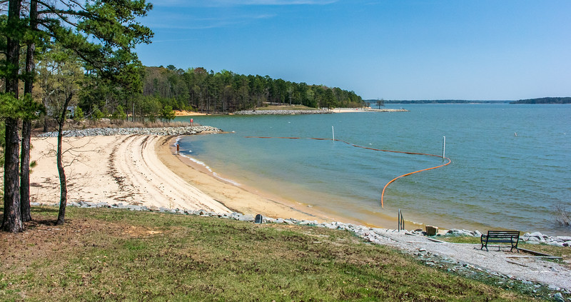 Swimming Beach @ North Bend Park, John Kerr Lake (Buggs Island Lake) - Boydton, VA