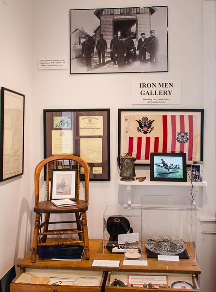 Iron Men Gallery - US Life-Saving Service @  Barrier Islands Center - Machipongo, VA