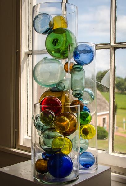 Fish Net Glass Floats @ Barrier Islands Center - Machipongo, VA