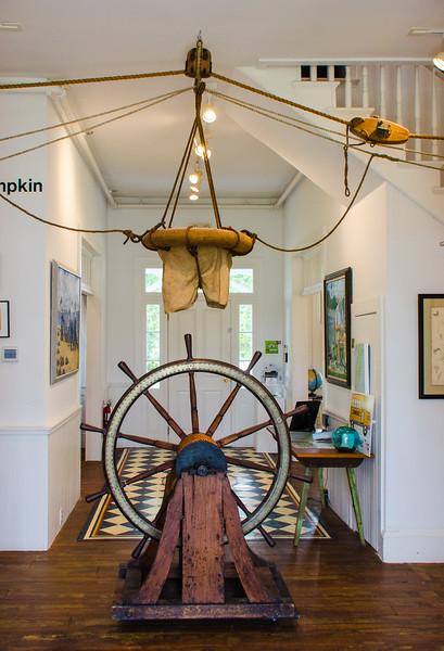 Breeches Boy & Ships Wheel @ Barrier Islands Center - Machipongo, VA