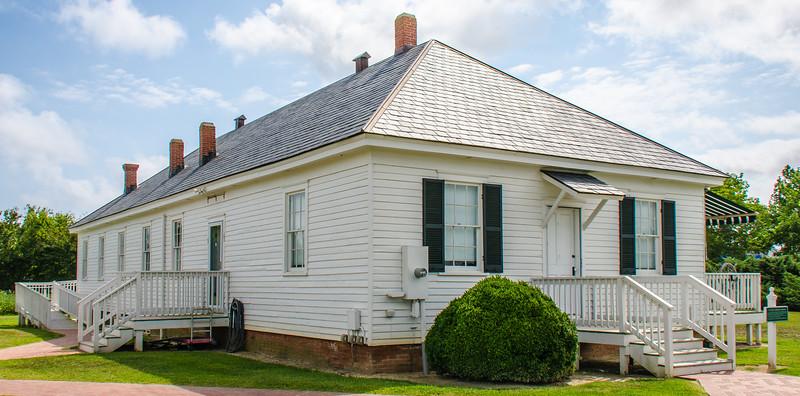 African-American Almshouse c. 1910 @ Barrier Islands Center - Machipongo, VA