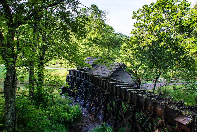 Mabry Millrace - Blue Ridge Parkway, Meadows of Dan, VA