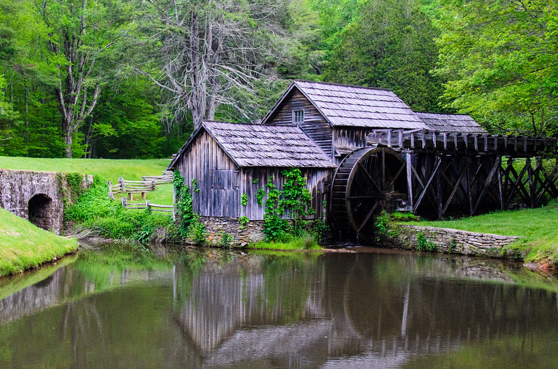 Mabry Mill 2 on the Blue Ridge Parkway - Meadows of Dan, VA