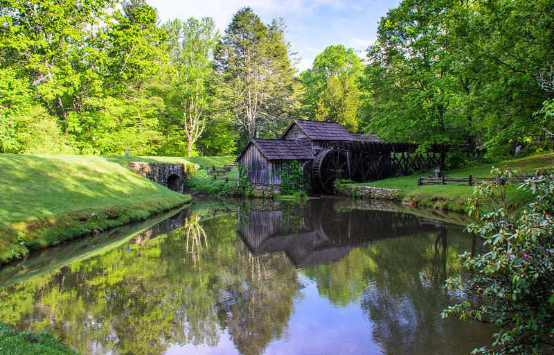 Mabry Mill & Pond - Blue Ridge Parkway, Meadows of Dan, VA