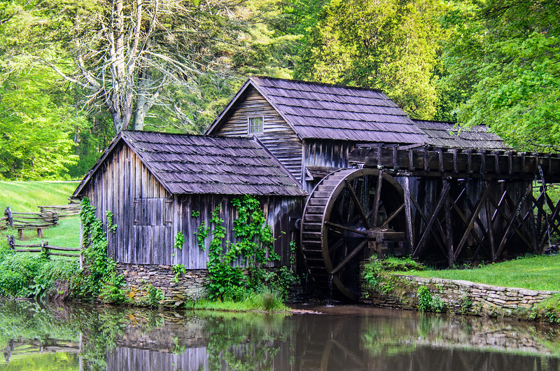 Mabry Mill - Blue Ridge Parkway, Meadows of Dan, VA
