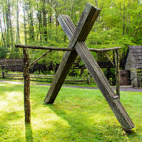 Lumber Drying Rack @ Mabry Mill - Blue Ridge Parkway, Meadows of Dan, VA