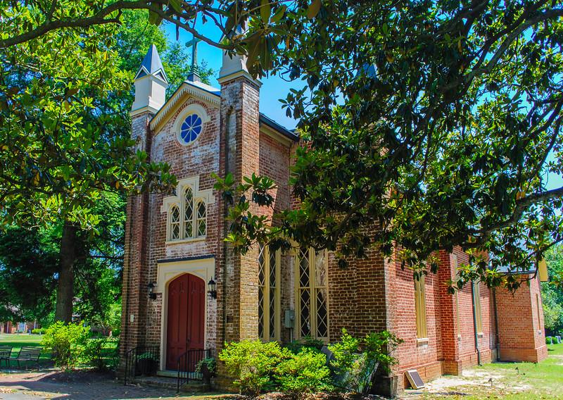 Immanuel Episcopal Church c. 1853 at Old Church - Mechanicsville, VA