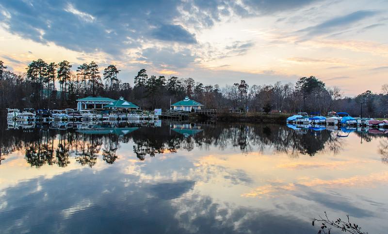 Evening Light on Swift Creek Reservoir 8 - Midlothian, VA