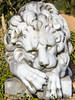 Lion Statue @ James Madison's Montpelier - Montpelier Station, VA