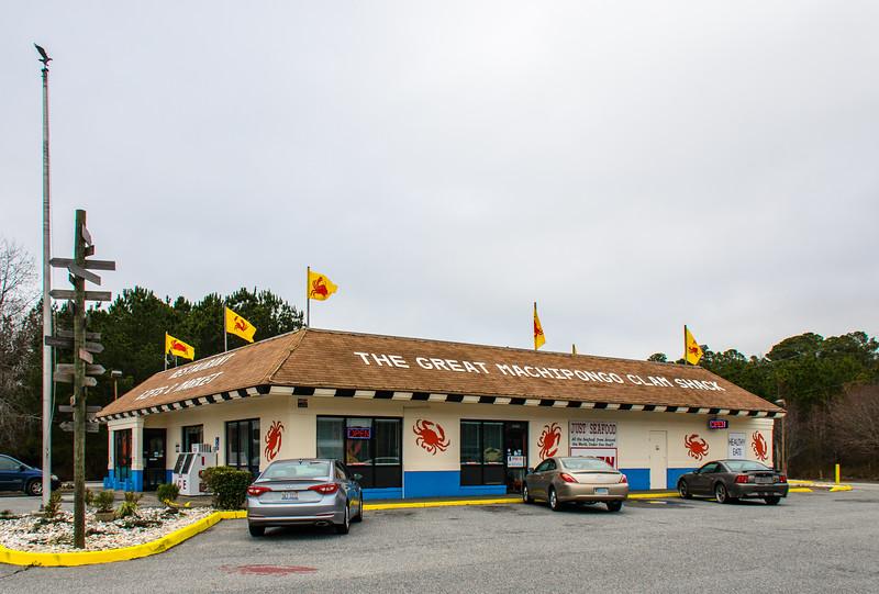 The Great Machipongo Clam Shack - Nassawadox, VA