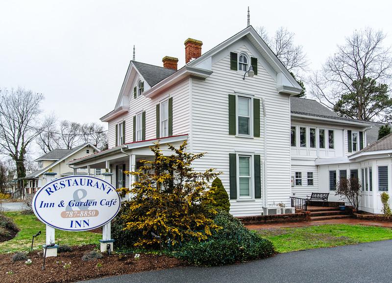 The Inn & Garden Cafe - Onancock, VA