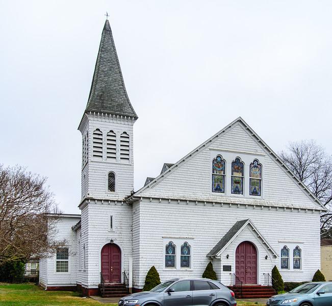 Onancock Baptist Church c. 1891 - Onancock, VA