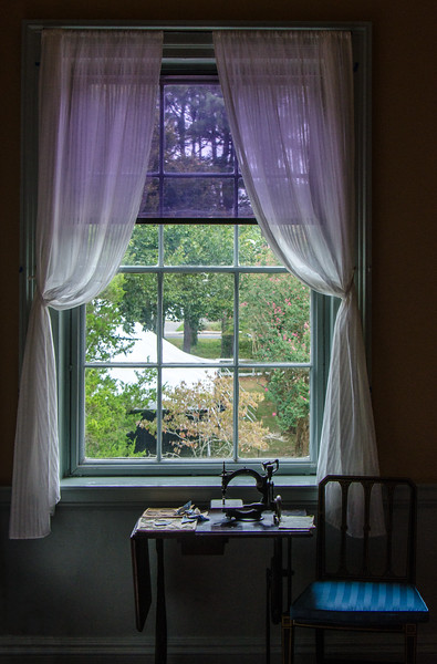 Window & Sewing Machine @ Ker Place - Onancock, VA