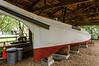 45' Log Canoe Annie C. 1904 @ Ker Place - Onancock, VA