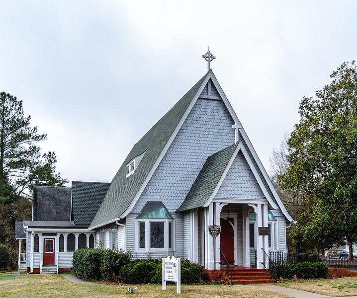 Holy Trinity Church c. 1882 - Onancock, VA